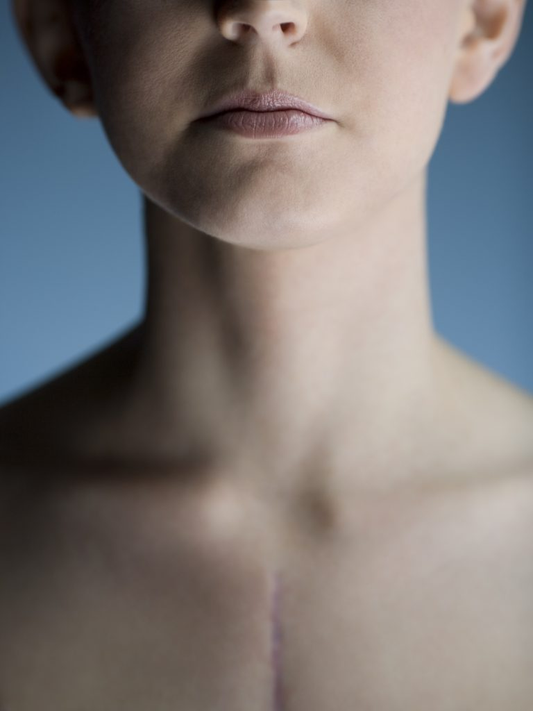 Close-up of a young woman --- Image by © Rubberball/Corbis
