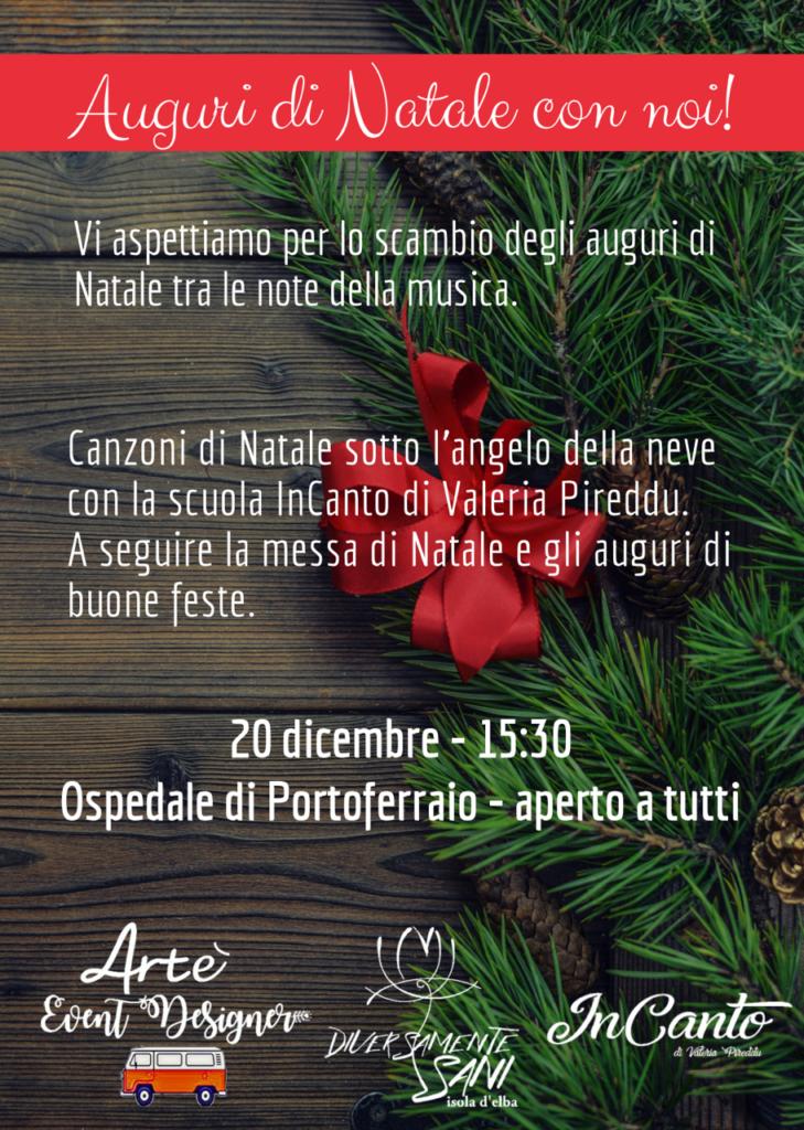 Canzone Di Natale Buon Natale.Auguri Di Buon Natale Diversamente Sani Elba