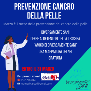 Prevenzione cancro della pelle
